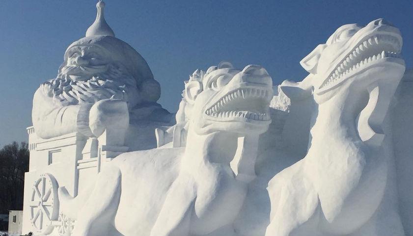 Harbin-IJssculpturen-festival-china