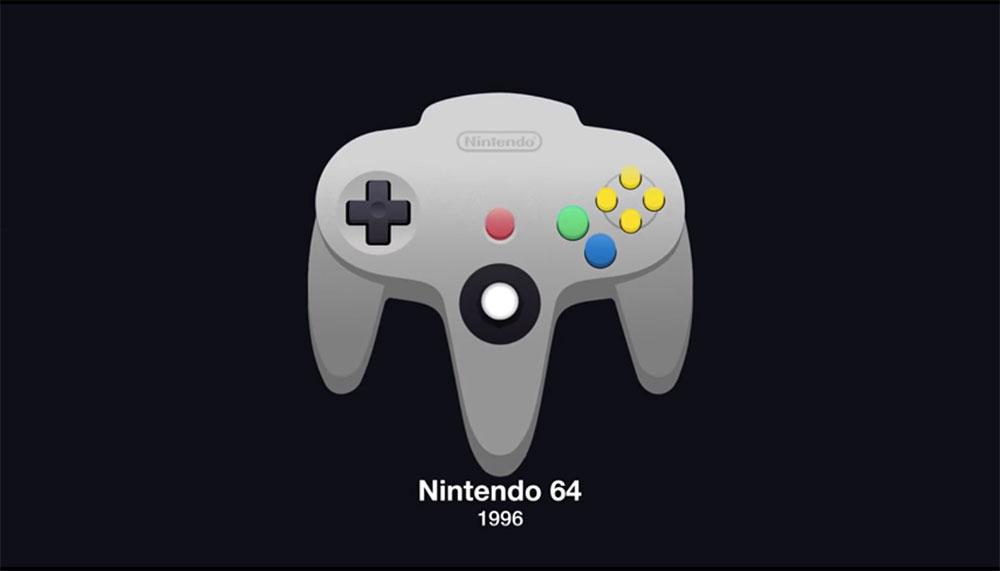 We begonnen met vierkante kastjes met een joystick, en zijn inmiddels aangekomen bij controllers met een uitneembaar HD-schermpje. Deze video toont de volledige geschiedenis van de gamecontroller.