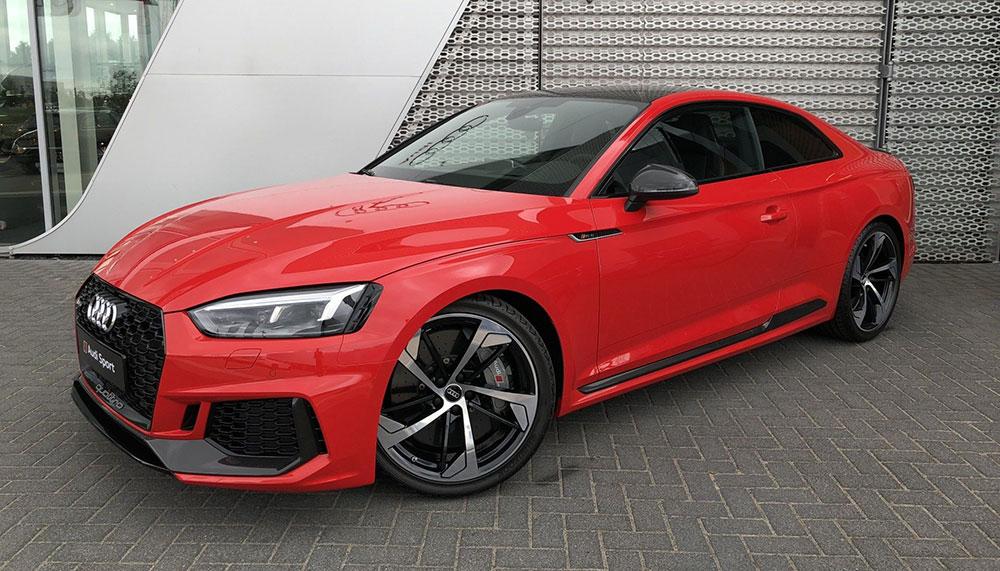 Audi Rs5 Coupé In Misanorood Geeft Kleur Aan Je Weekend Jfk