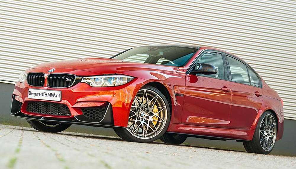 Hij heeft 451 pk, niet veel kilometer op de teller én een haalbaar prijskaartje. Met deze BMW M3 Competition Pack ben je de koning van de Autobahn.