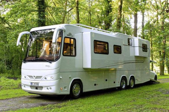 Vario Perfect: camper met ingebouwde garage.