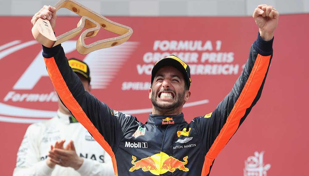 Brekend nieuws in Formule 1-land: na dit seizoen gaat Daniel Ricciardo weg bij Red Bull Racing.
