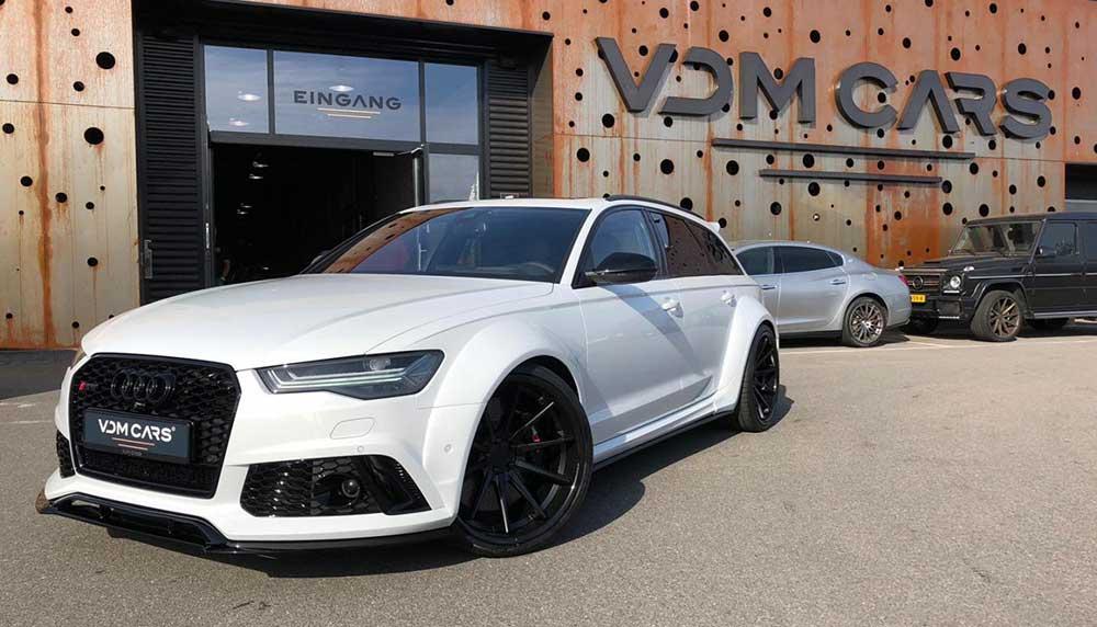 Koop de oude Audi RS 6 van Boef en vertoon patsergedrag - JFK