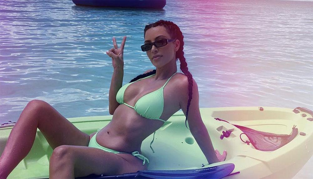 De vrouw van Ye neemt het niet zo nauw met de regeltjes: de recentste blootfoto van Kim Kardashian mag nét wel op Instagram. Of toch niet?