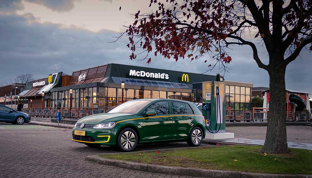 McDonald's in auto's