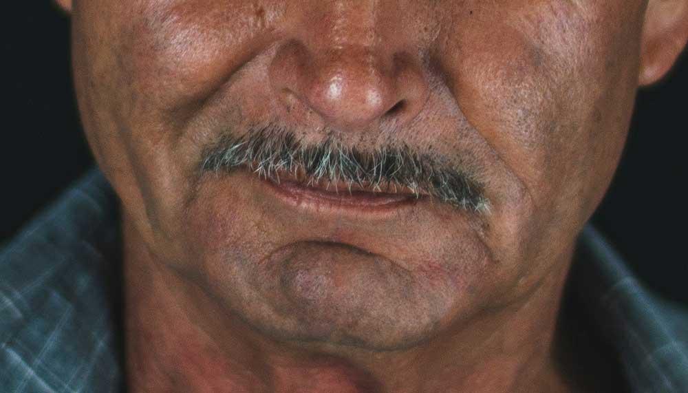 Movember-snor
