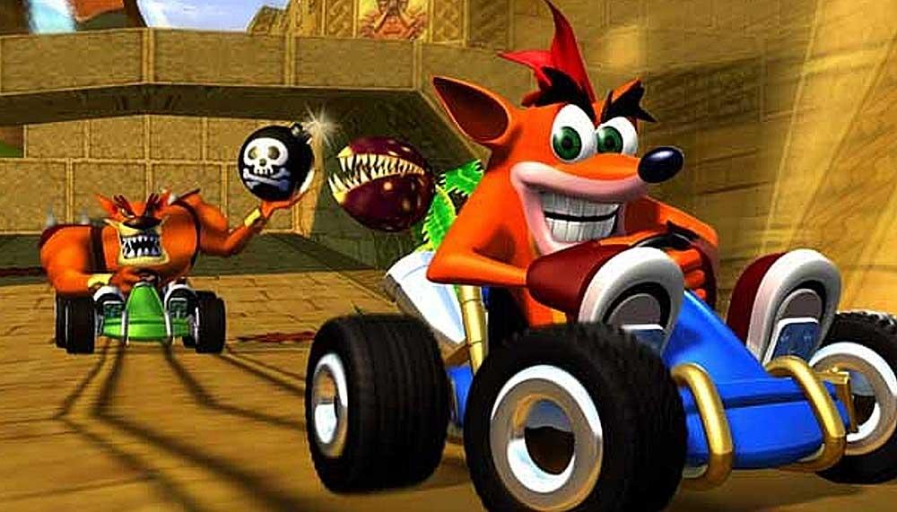 remaster van Crash Team Racing