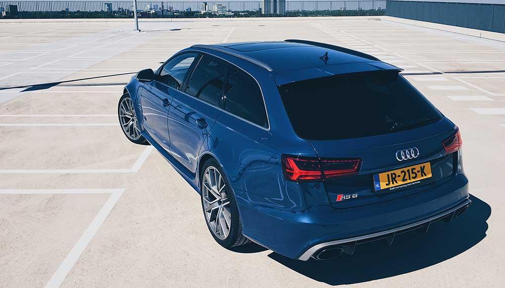 Audi-rijders pakken de meeste boetes