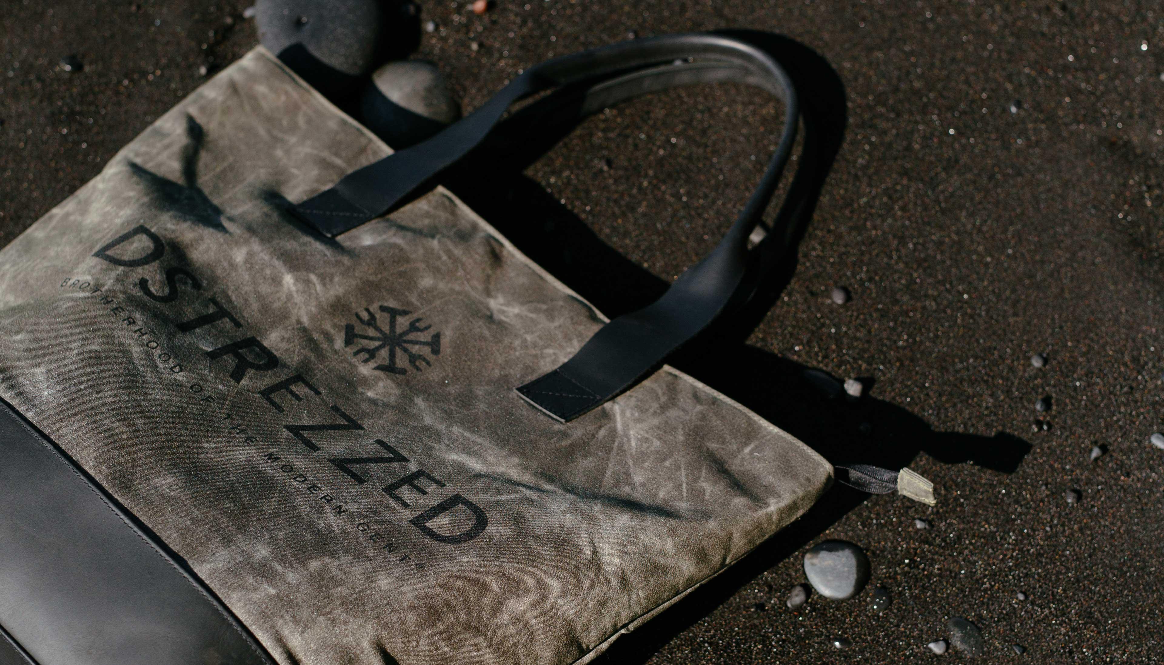 Dstrezzed Bag Canvas And Leather Bij Abonnement Op Jfk Jfk