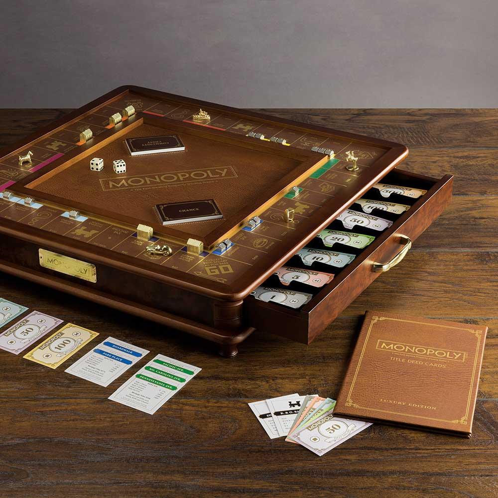 Luxe Monopoly spel