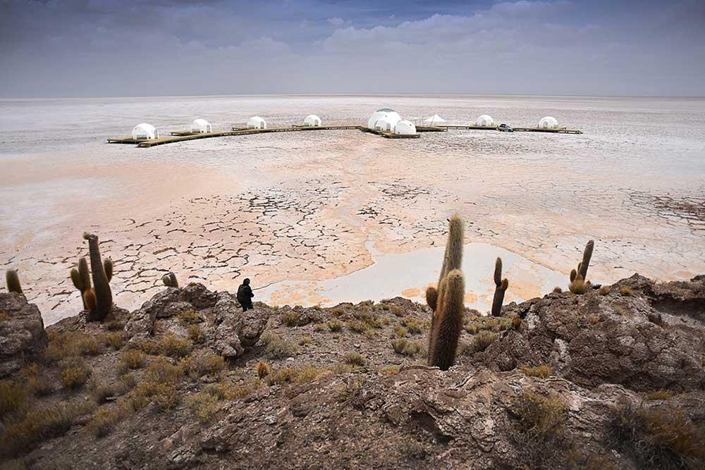 mooiste uitzicht van Bolivia