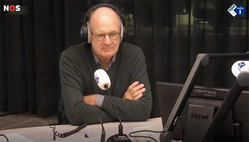 Philip Freriks live op de radio ontslagen