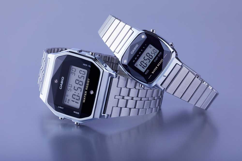 retro Casio horloges