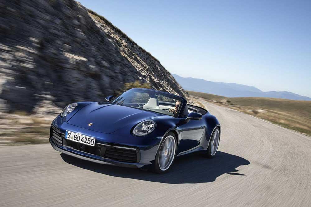Nieuwe Porsche 911 Cabrio