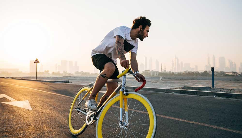 Boete voor appen op de fiets
