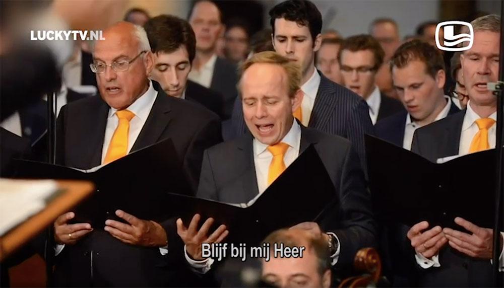 LuckyTV roast Kees van der Staaij