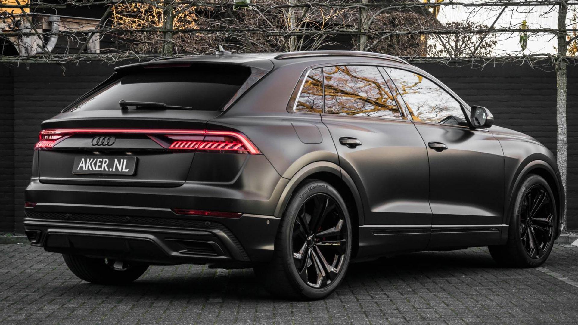 De Audi Q8 van Giel de Winter