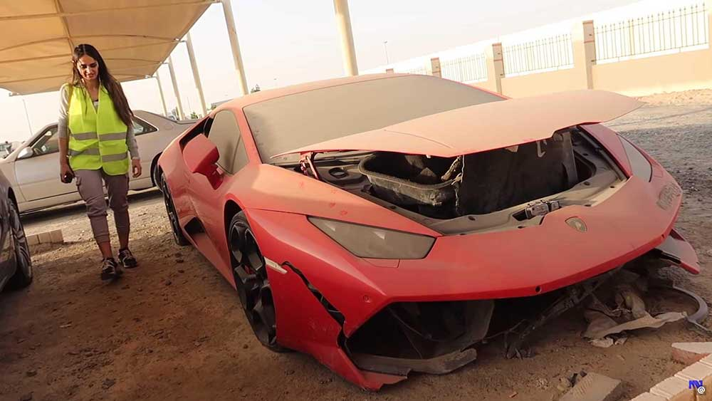 Autosloperij in Dubai