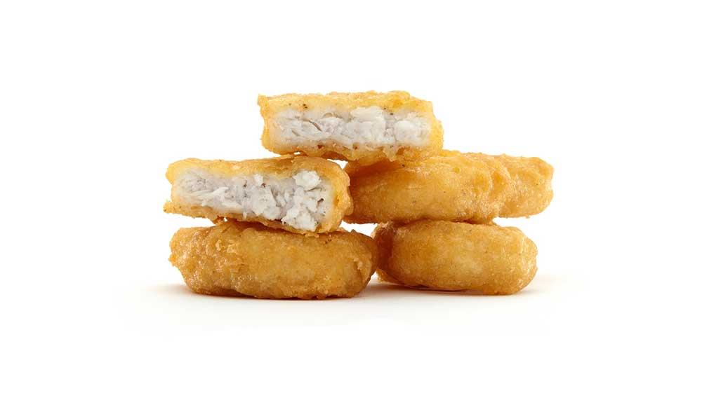 geen kipnuggets meer bij McDonald's