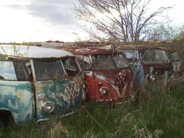 55 klassieke Volkswagen-busjes te koop