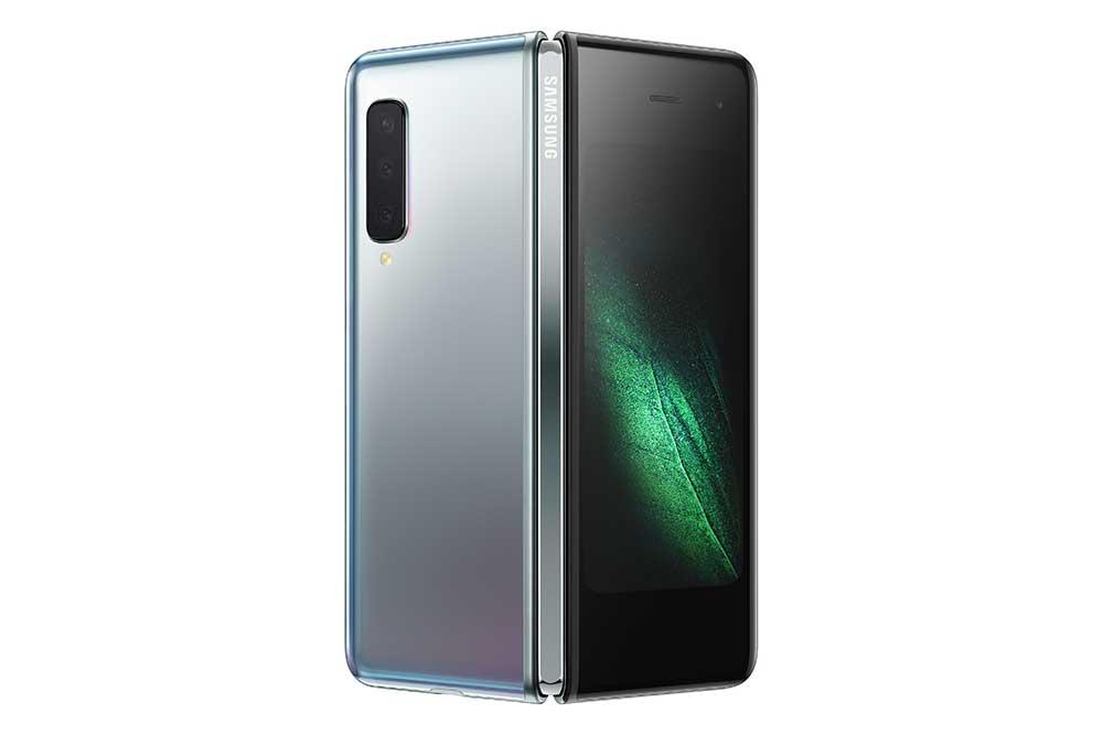 Opvouwbare telefoon van Samsung