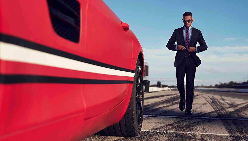 Lewis Hamilton na Formule 1
