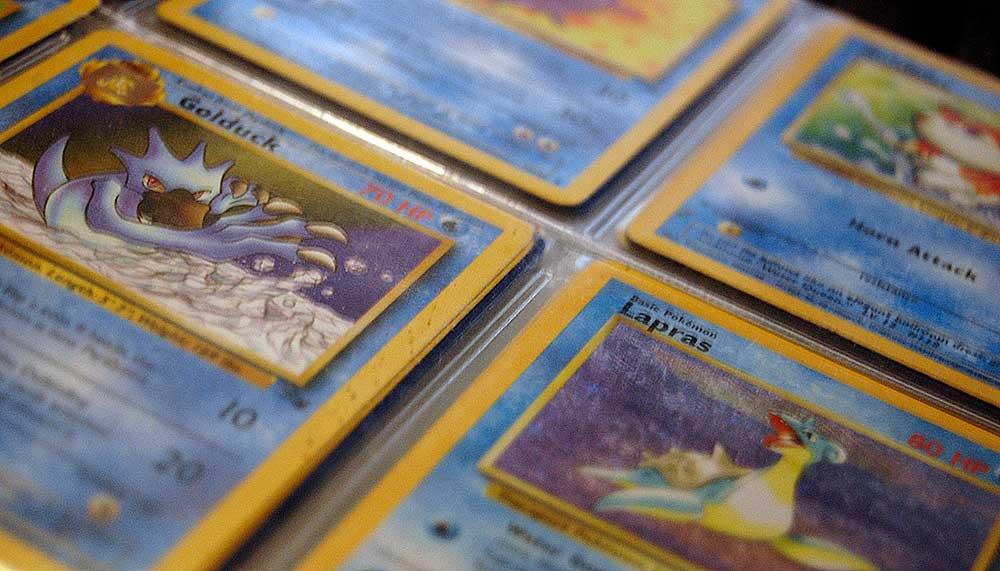 Waarde oude Pokémon-kaarten