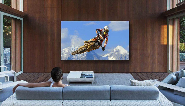 8K Sony tv