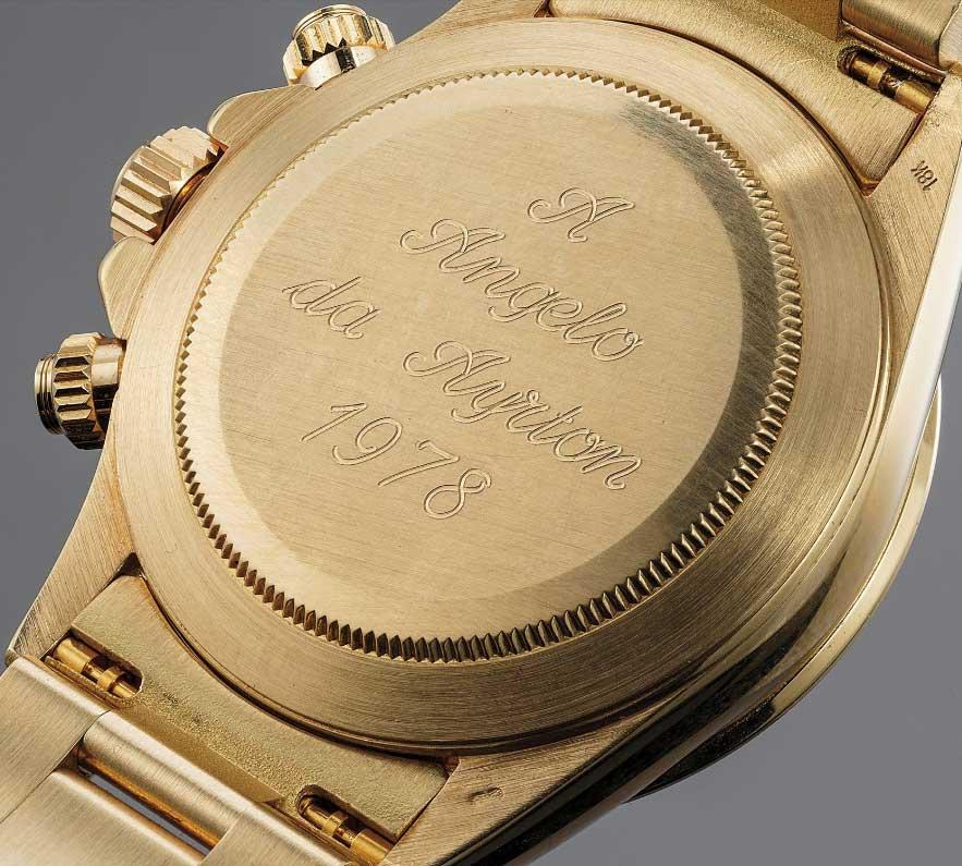 gouden rolex van ayrton senna