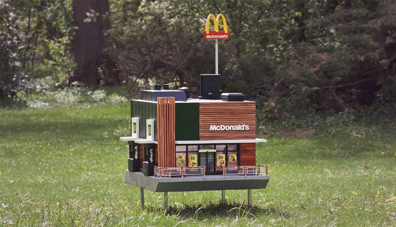 Kleinste McDonald's ter wereld