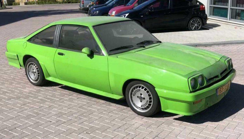 Opel Manta uit New Kids Nitro