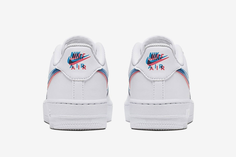 3D-sneakers van Nike van achteren