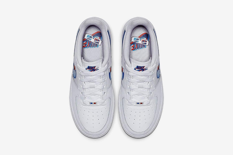 3D-sneakers van Nike van boven