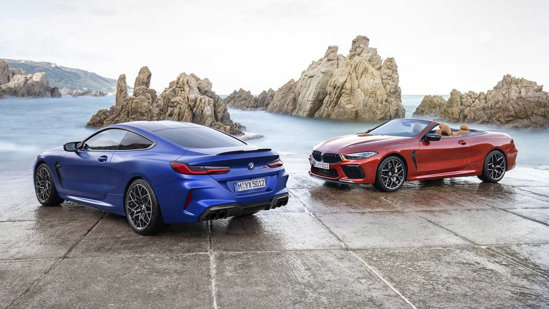 BMW M8 Coupé en Cabrio