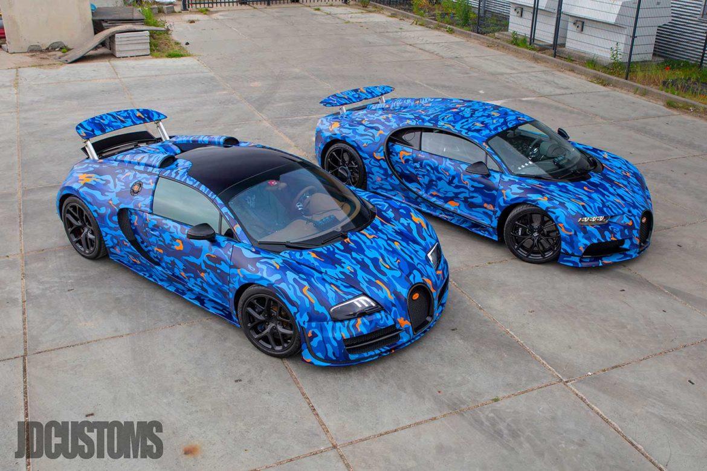 Bugatti's van Afrojack en Jeroen van den Berg
