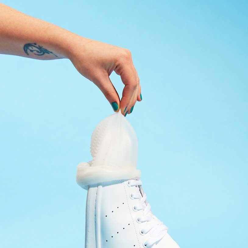 condooms voor schoenen