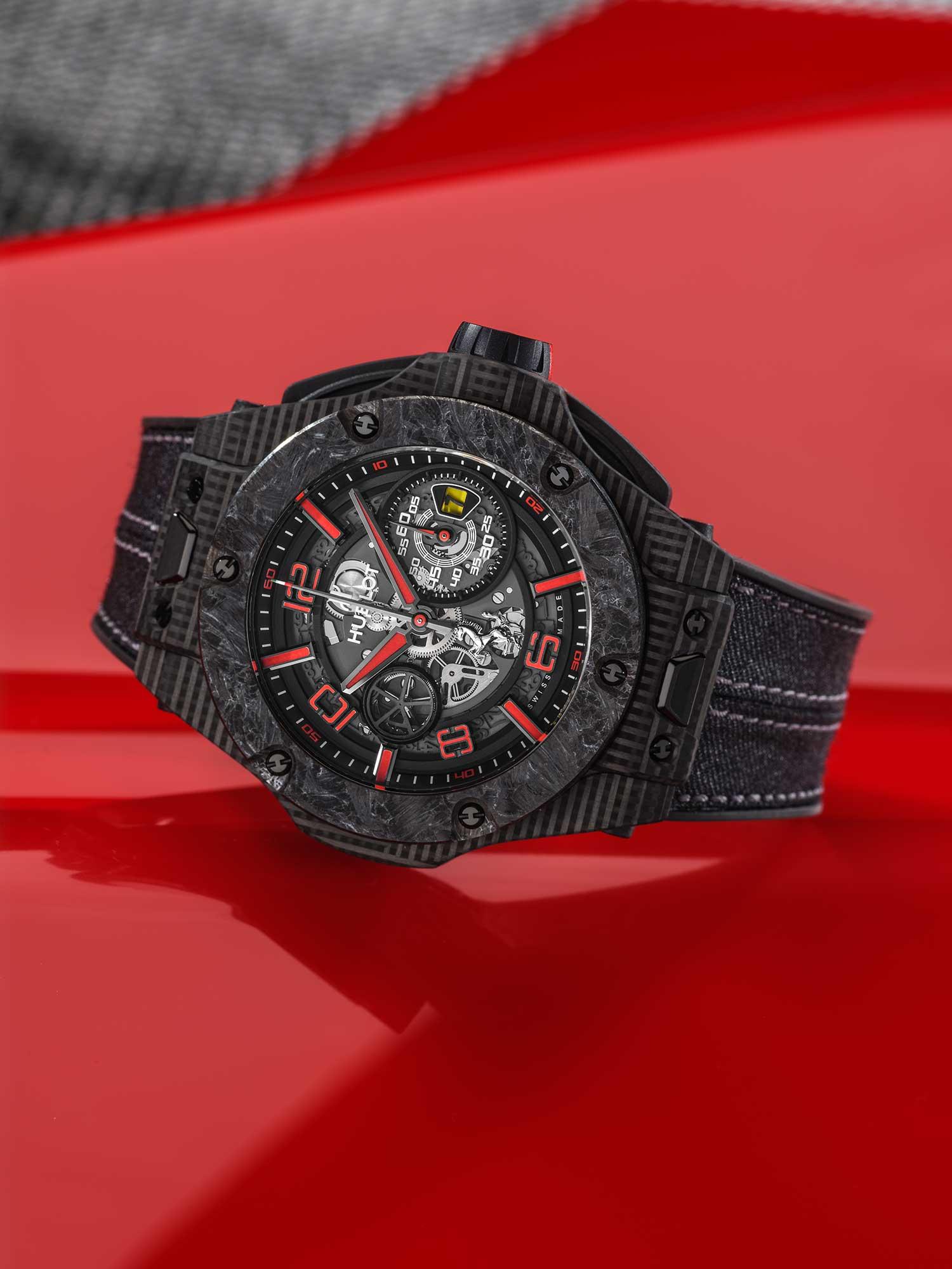 Hublot Big Bang Scuderia Ferrari 90th Anniversary