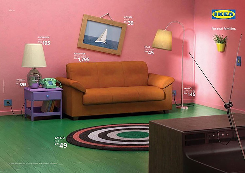 Huiskamer van The Simpsons