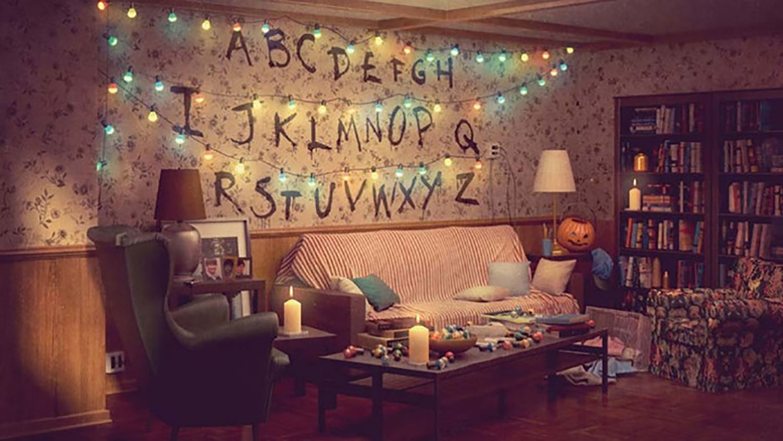 Alfabet-kamer uit Stranger Things