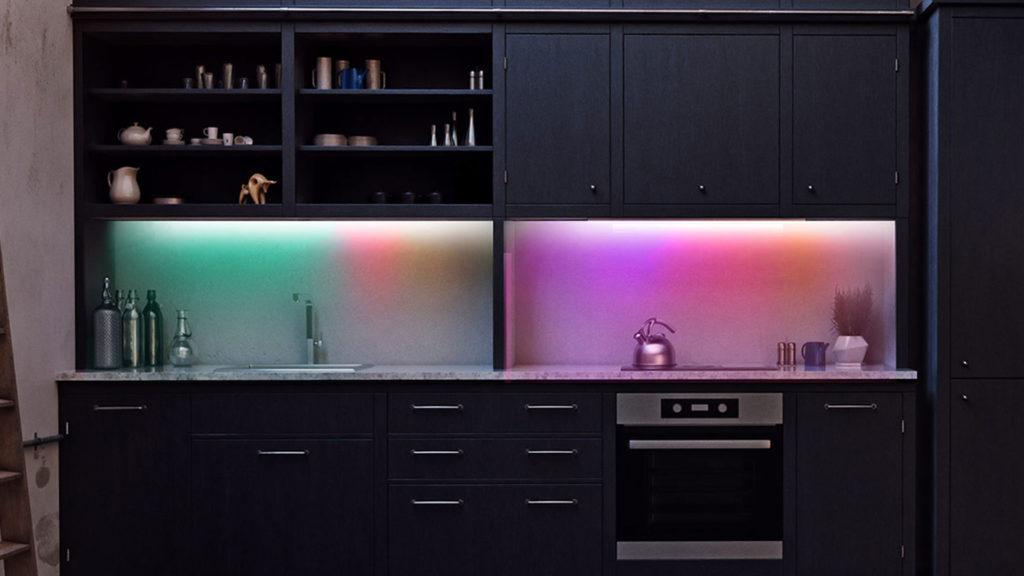 Lifx Z strip in de keuken