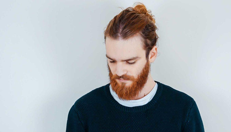 Mannen met rood haar