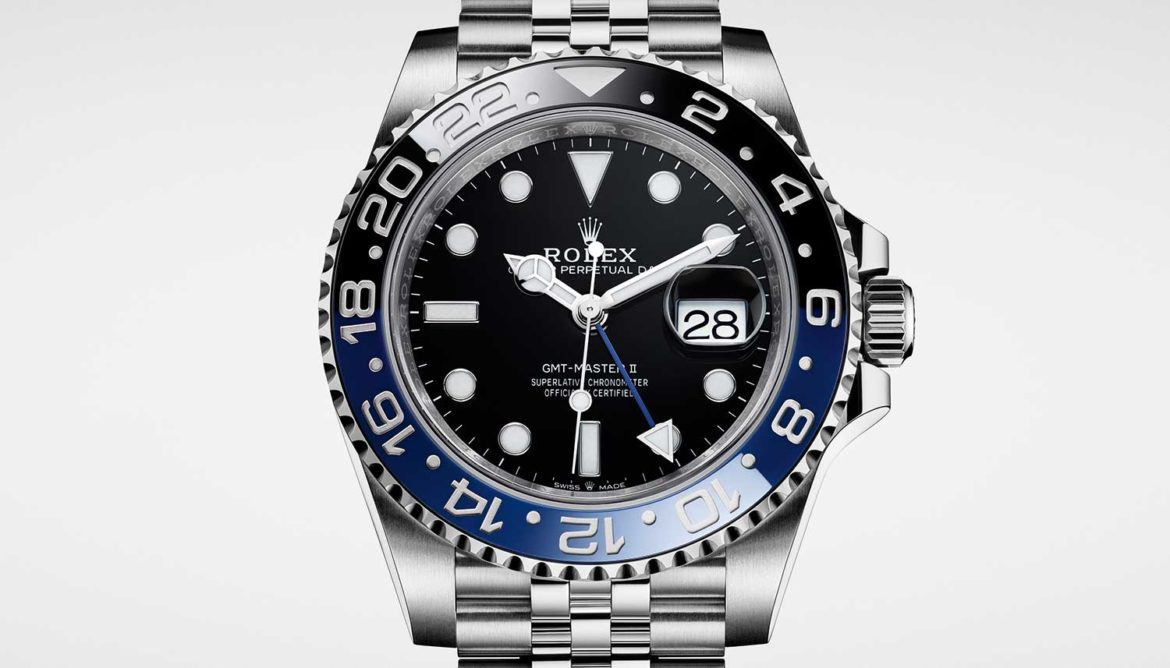Rolex GMT-Master II Oyster Steel close