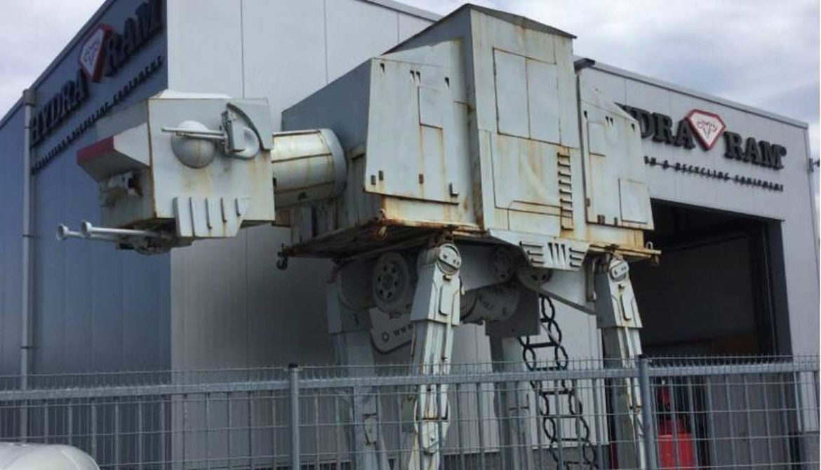 AT-AT uit Star Wars