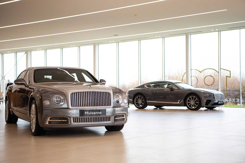 Fabriek van Bentley in Crewe