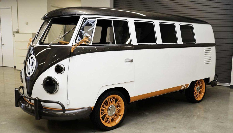 Elektrische Volkswagen-bus