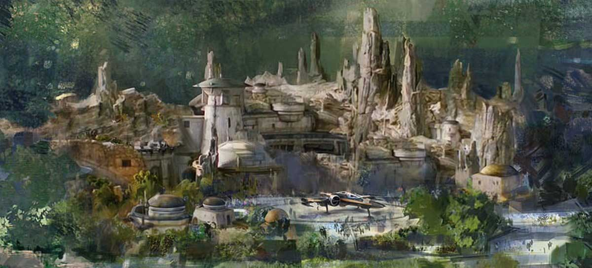 Galaxy's Edge in Disneyland Parijs