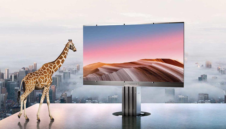 Grootste tv voor buiten