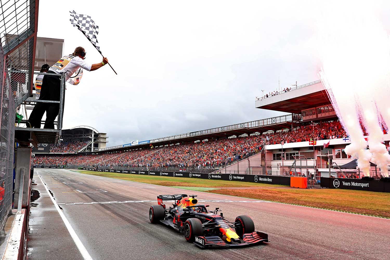 Max Verstappen GP van Duitsland