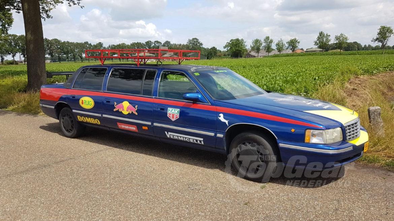 Max Verstappen-limousine
