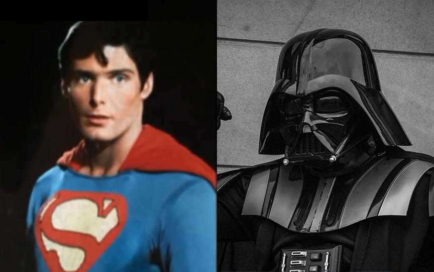 Darth Vader hielp Superman